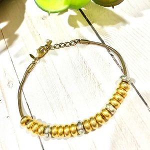 AVON Sterling Silver and Gold Bracelet